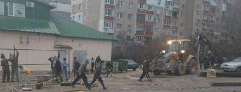 В Симферополе среди многоэтажек построят еще одну с подземным паркингом: местные жители опасаются разрушений своих домов