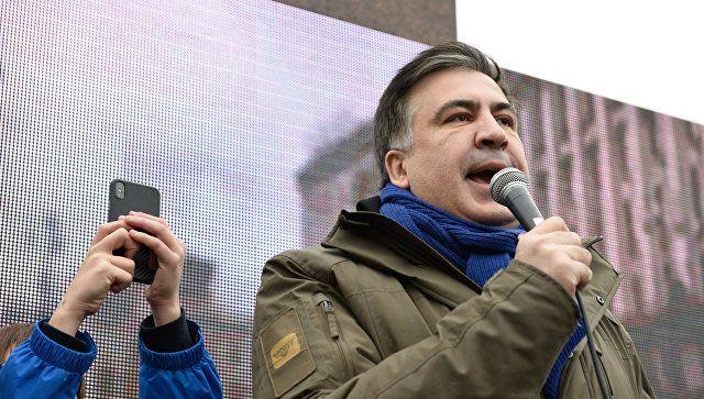 Саакашвили заявил о приостановке митингов и маршей в Киеве