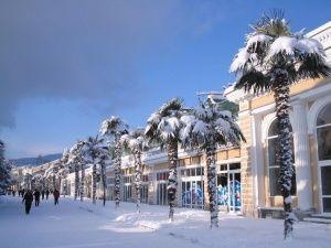 На Новый год в Крыму ждут похолодание и мокрый снег
