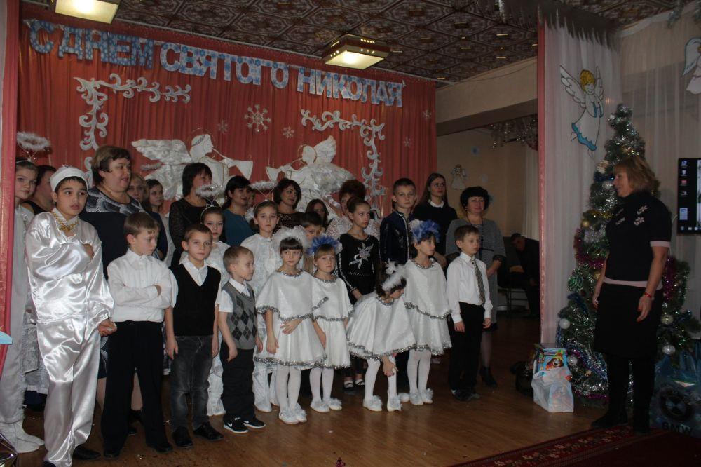 Наталия Сологуб поздравила детей Центра социальной поддержки семей, детей и молодёжи с Днём Святого Николая Чудотворца