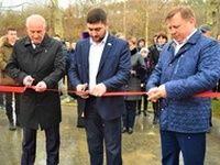 Игорь Лукашев открыл спортивный комплекс школы №10