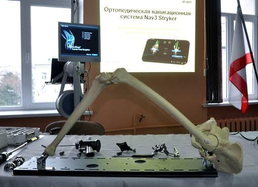 В Симферопольской больнице №6 прошли занятия по эндопротезированию крупных суставов