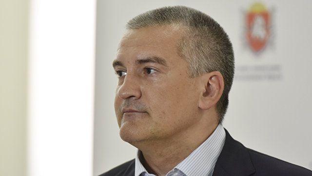 Аксенов считает, что первым помосту через Керченский пролив должен проехать президент