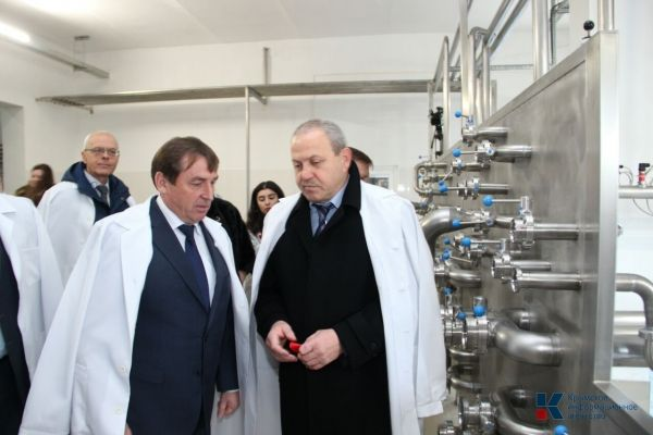ПБК «Крым» открыл новый цех