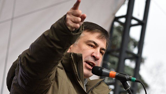 Саакашвили объявил ополучении повестки надопрос вСБУ 26декабря