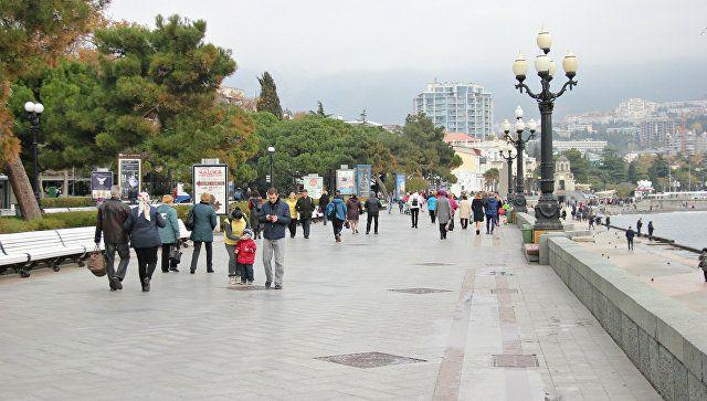 ВКрыму новый год встретят сто тыс. туристов