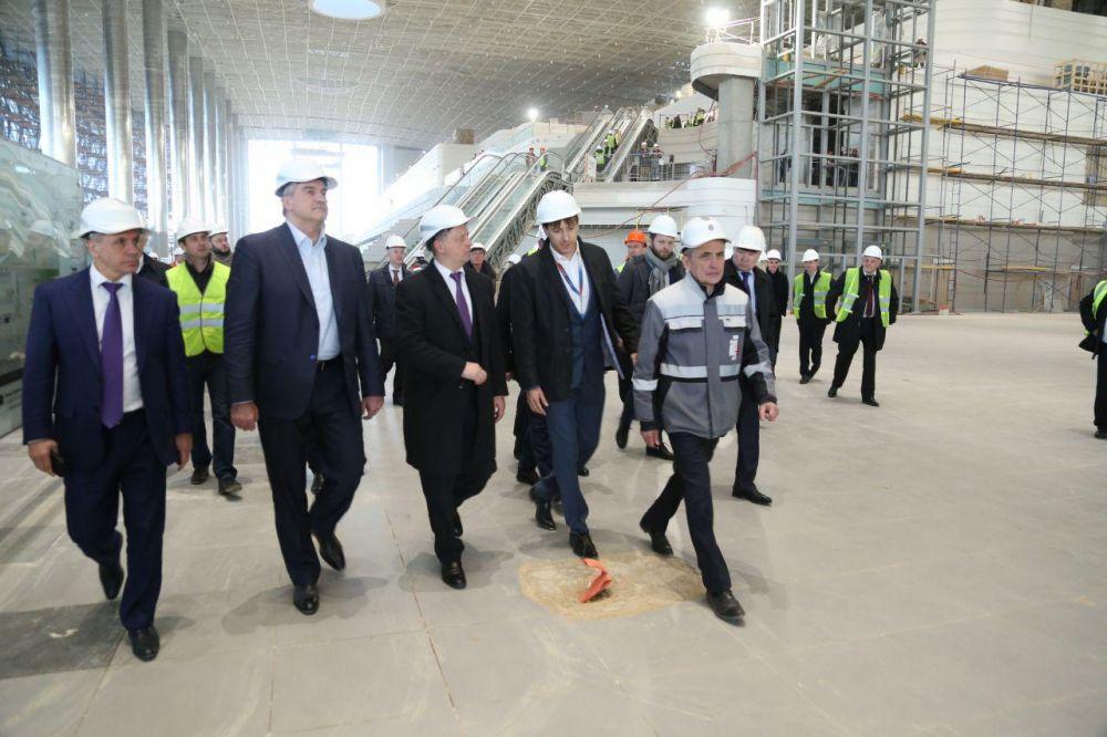 Завершен основной этап возведения нового воздушного терминала вСимферополе «Крымская волна»