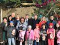 В Гурзуфе открыли поселковую ёлку