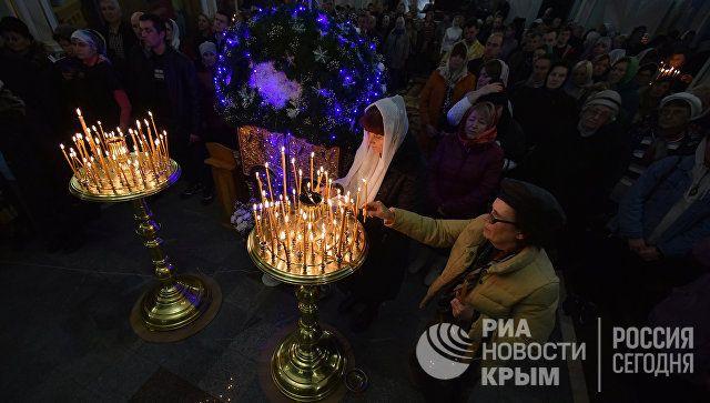 ВКрыму наРождество спели украинские колядки