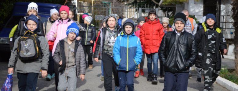 Юные дзюдоисты Ялты готовятся к соревнованиям этого года