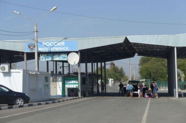 Крымский пограничник отказался от взятки украинца
