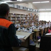 Урок горноспасательной подготовки от крымских спасателей для кадетов МЧС России