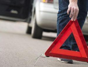 В крымской столице водитель мопеда головой разбил иномарку