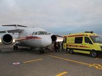 Спецборт МЧС России осуществляет санитарно-авиационную эвакуацию четверых тяжелобольных детей из Симферополя в Москву