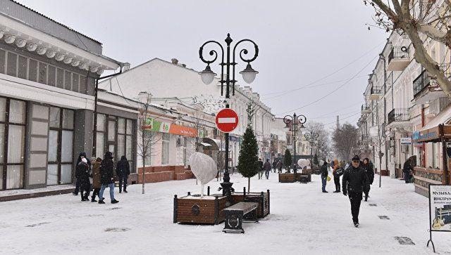 Балканский циклон принесет вКрым снег, дождь иветер