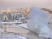 В Крыму ожидается снегопад и сильный ветер