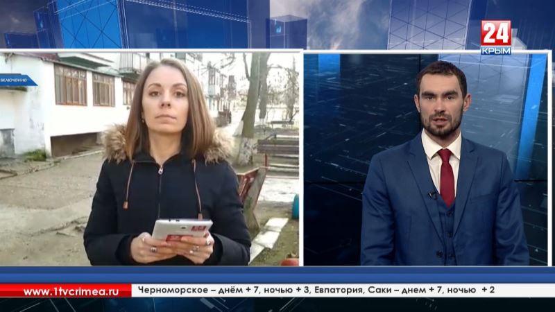Прямое включение корреспондента телеканала «Крым 24» Екатерины Наумовой из Красноперекопска