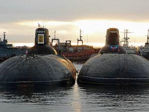 РФ утилизирует две самые крупные в мире атомные подлодки
