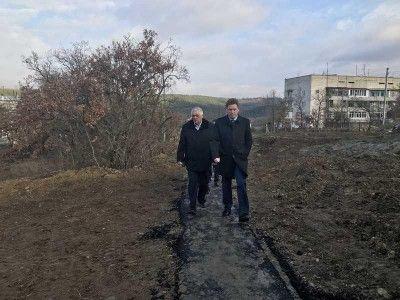 Губернатору Севастополя не понравилась дорога под ногами