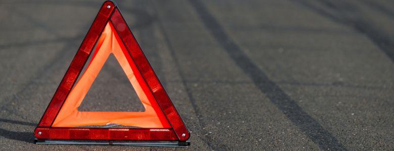 Под Симферополем водителя-лихача спас отбойник
