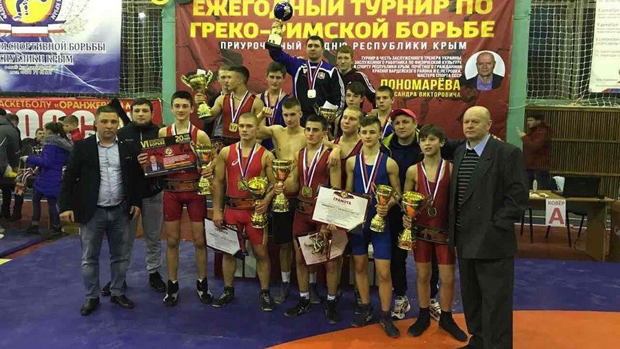 Все победители и призеры юношеского турнира по греко-римской борьбе на призы Александра Пономарева