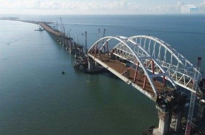 Крымский мост рассчитан на землетрясение в 9 баллов