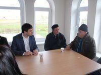 Ленур Абдураманов с рабочим визитом посетил Черноморский район