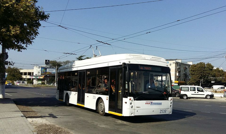 Для Ялты закажут 28 узких троллейбусов