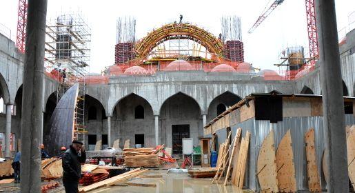 Соборную мечеть в Симферополе обещают достроить к 1 декабря