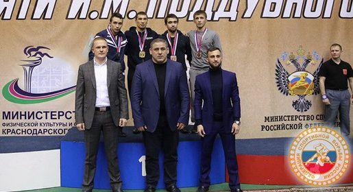 Крымские борцы завоевали две медали на международном турнире в Краснодаре