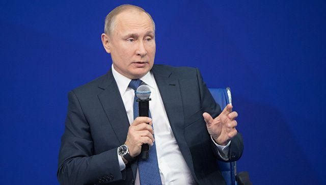 Путин признал факт применения допинга в русском спорте