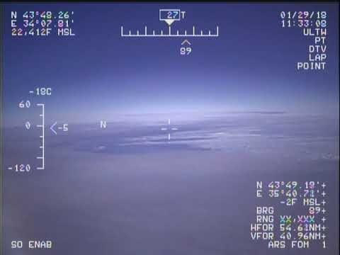 США опубликовали видео опасного сближения их самолета с СУ-27 около Крыма