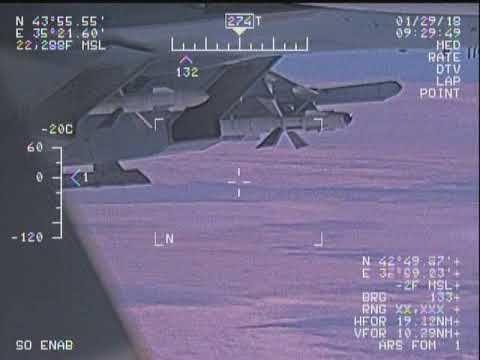 Опубликованы новые видео перехвата самолета США у Крыма