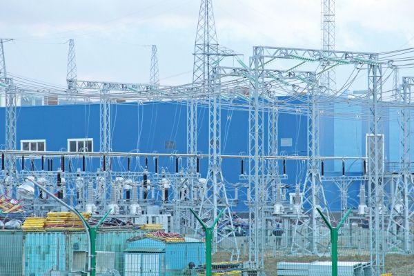 Новейшую электростанцию под Симферополем подключили кэнергосистеме Крыма