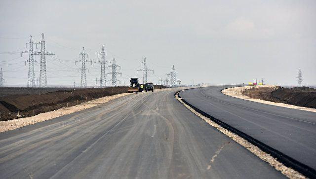 Строители поведали обуспехах ввозведении моста вКрым