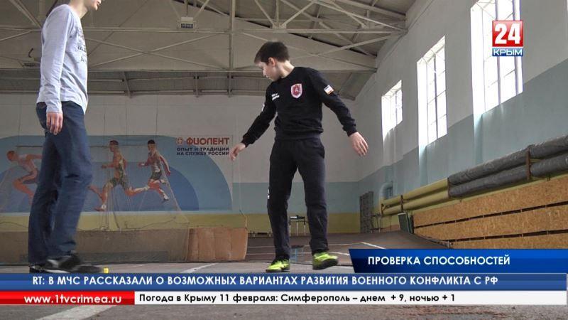 В Симферополе прошел муниципальный этап зимнего фестиваля ГТО