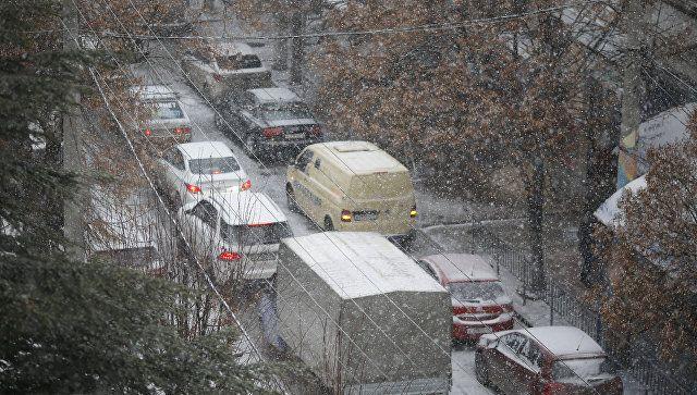 Сильные дожди, переходящие в снег: на Крым надвигается шторм