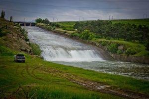 Сильные дожди повышают уровень рек Крыма