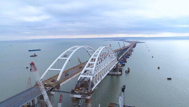 Вид сверху. Как выглядит Крымский мост
