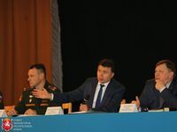 Игорь Михайличенко встретился с военнослужащими Симферопольского военного гарнизона