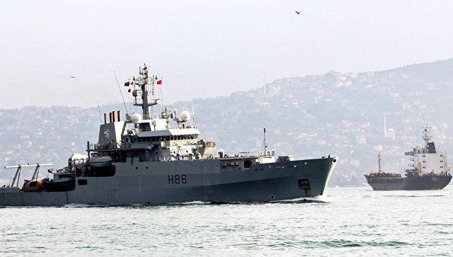 ЧФ опроверг данные об опасном маневре с кораблями РФ и Британии в Босфоре