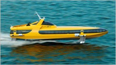 Рейсы судов на подводных крыльях в Крыму начнутся с июня
