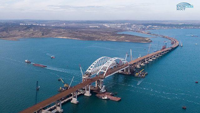 Стали известны сроки запуска движения помосту через Керченский пролив