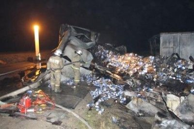 В крупном ДТП в Крыму всего пострадало 9 человек(фото+видео)