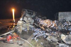 Семь человек погибли в аварии а крымской трассе