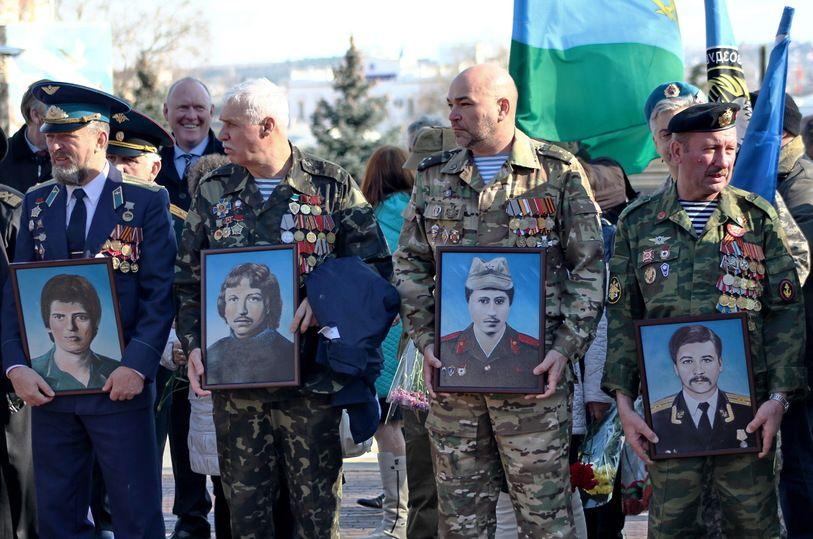 В Севастополе отметили дату окончания войны в Афганистане