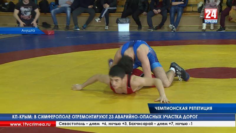 В Алуште провел первенство Крыма по греко-римской борьбе среди юниоров. Их посвятили памяти мастера спорта Левона Агабабяна