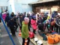 Спасатели Судакского АСО «КРЫМ-СПАС» провели открытый урок безопасности для учеников начальных классов школы-гимназии г. Судак