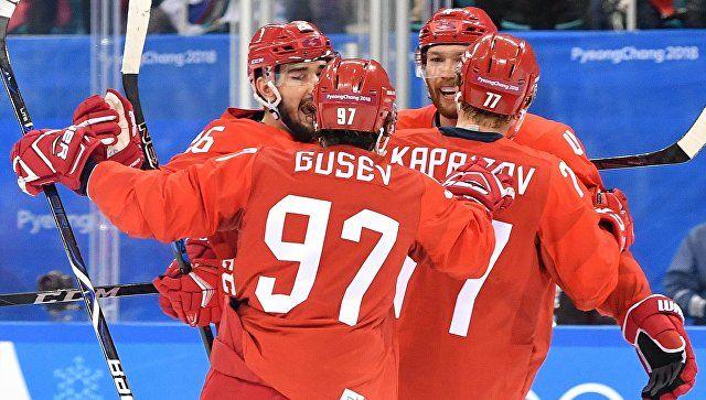 Российские хоккеисты разгромили норвежцев на Олимпиаде