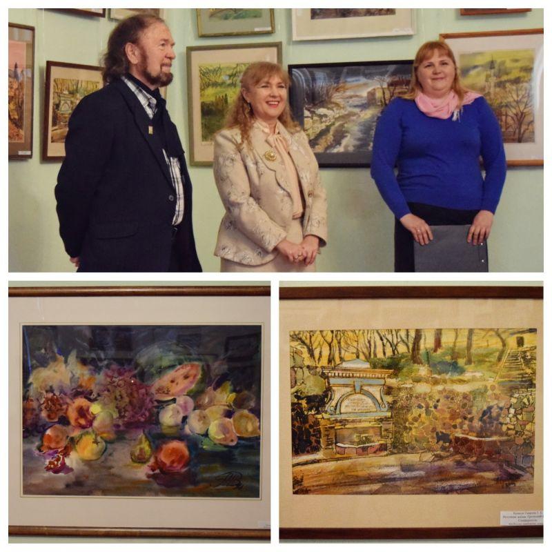 В Бахчисарайском музее состоялось открытие выставки «Крымские мотивы»